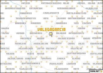 map of Vale da Garcia