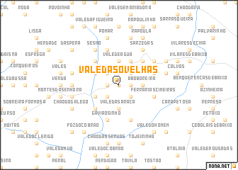map of Vale das Ovelhas