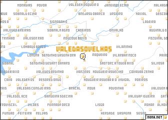 map of Vale das Ovelhas