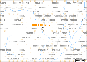 map of Vale de Porco