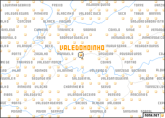 map of Vale do Moinho