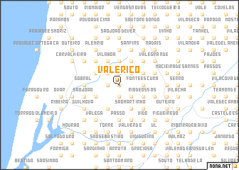 map of Vale Rico