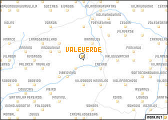 map of Vale Verde