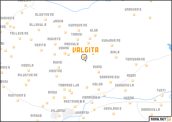map of Välgita
