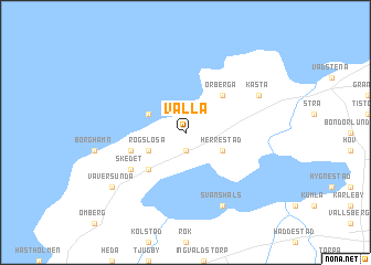 map of Valla