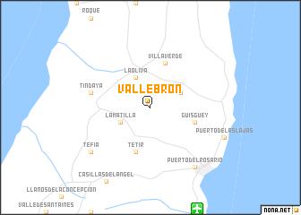map of Vallebrón