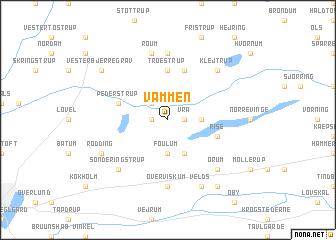 map of Vammen