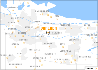 map of Van Loon