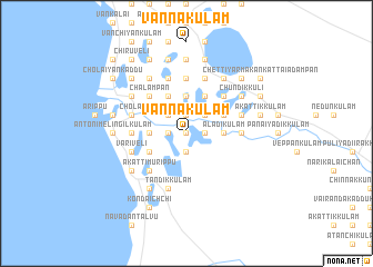map of Vannakulam