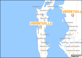 map of Vannativillu