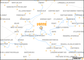 map of Vanne