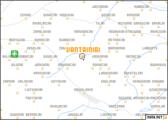 map of Vantainiai