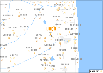 map of Vaqo