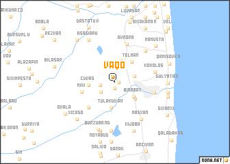 map of Vaqo