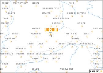map of Văraiu