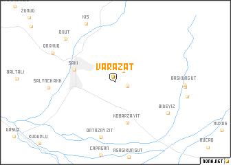 map of Vǝrǝzǝt