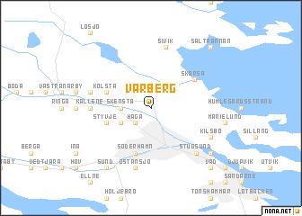 Varberg Sweden Map Nonanet - Varberg sweden map