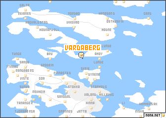 map of Vardaberg