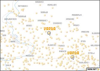 map of Varda
