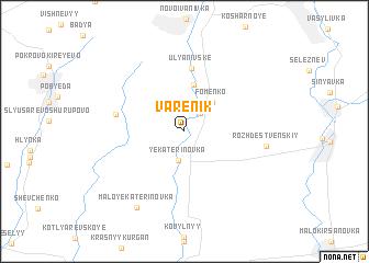 map of Varenik
