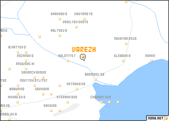 map of Varezh