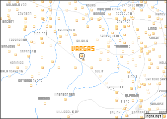 map of Vargas