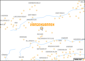 map of Vargeh Darreh