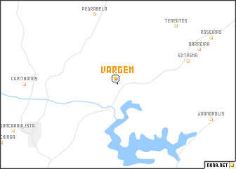 map of Vargem