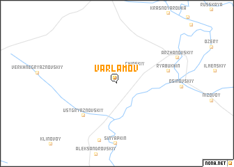 map of Varlamov