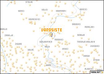map of Varošište