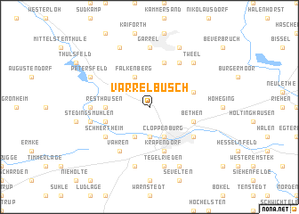 map of Varrelbusch