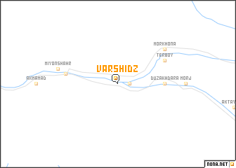 map of Varshidz