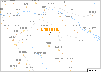 map of Vartatil\