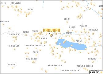 map of Varvara