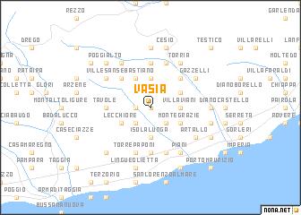 map of Vasia