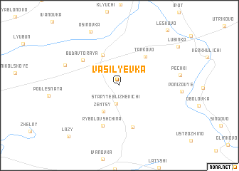 map of Vasil\