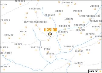 map of Vasino