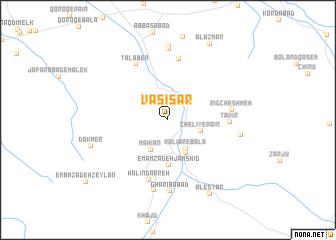map of Vasī' Sar