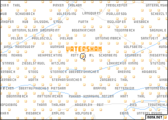 map of Vatersham