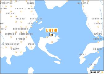 map of Vathí