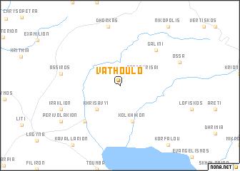 map of Vathouló