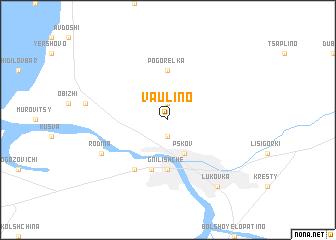 map of Vaulino