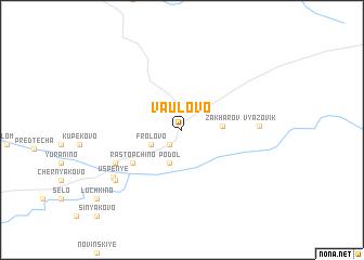 map of Vaulovo