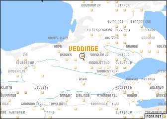 map of Veddinge