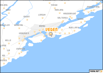 map of Veden