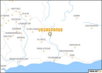 map of Vega Grande