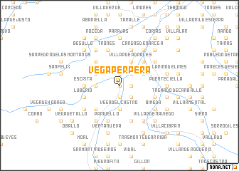 map of Vega Perpera