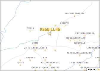 map of Veguillas