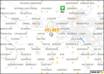 map of Velber