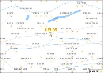 Velds (Denmark) map - nona.net